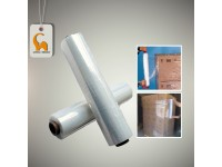2 Rolls 500MM, 2.4kg Clear Stretch Film Wrapping Transparent Packing Factory Industry Packaging LittleThingy